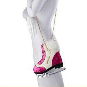 Betsey Johnson Ice Skate Crossbody Bag Purse